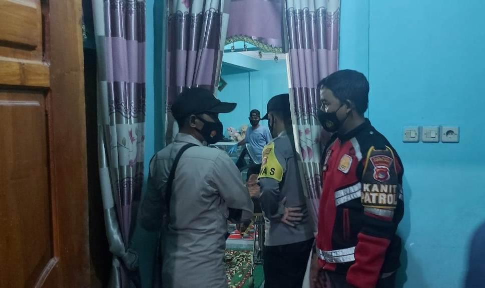 Polisi Lakukan Identifikasi Penemuan Jenasah di Dalam Kamar di Lamuntet